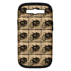 Indian Motorcycle Samsung Galaxy S Iii Hardshell Case (pc+silicone) by ArtworkByPatrick1