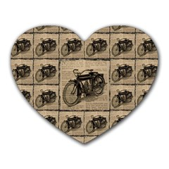 Indian Motorcycle 1 Heart Mousepads