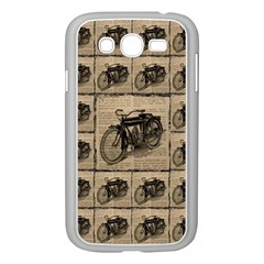 Indian Motorcycle 1 Samsung Galaxy Grand Duos I9082 Case (white) by ArtworkByPatrick1