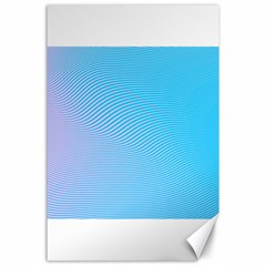 Background Graphics Lines Wave Canvas 24  X 36