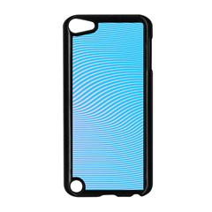Background Graphics Lines Wave Apple Ipod Touch 5 Case (black)