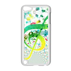 Points Circle Music Pattern Apple Ipod Touch 5 Case (white)