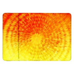 Abstract Explosion Blow Up Circle Samsung Galaxy Tab 8 9  P7300 Flip Case