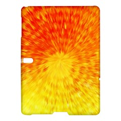 Abstract Explosion Blow Up Circle Samsung Galaxy Tab S (10 5 ) Hardshell Case