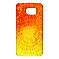 Abstract Explosion Blow Up Circle Samsung Galaxy S6 Hardshell Case