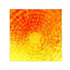 Abstract Explosion Blow Up Circle Small Satin Scarf (square)