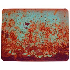 Orange Blue Rust Colorful Texture Jigsaw Puzzle Photo Stand (rectangular) by Nexatart