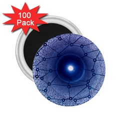Network Social Abstract 2 25  Magnets (100 Pack)