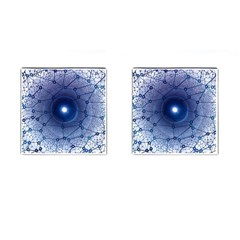 Network Social Abstract Cufflinks (square)