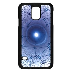 Network Social Abstract Samsung Galaxy S5 Case (black)