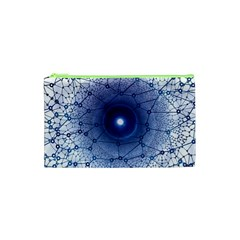 Network Social Abstract Cosmetic Bag (xs)