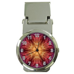 Fractal Abstract Artistic Money Clip Watches