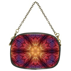 Fractal Abstract Artistic Chain Purses (one Side)