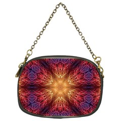 Fractal Abstract Artistic Chain Purses (two Sides)