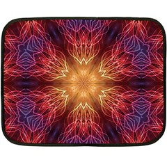 Fractal Abstract Artistic Double Sided Fleece Blanket (mini)