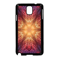 Fractal Abstract Artistic Samsung Galaxy Note 3 Neo Hardshell Case (black)