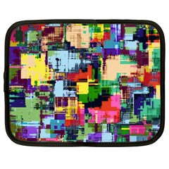 Color Abstract Background Textures Netbook Case (large)