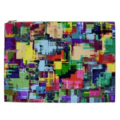 Color Abstract Background Textures Cosmetic Bag (xxl)