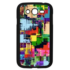 Color Abstract Background Textures Samsung Galaxy Grand Duos I9082 Case (black)