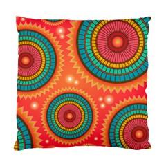 Background Texture Mosaic Pink Standard Cushion Case (one Side) by Nexatart