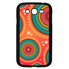 Background Texture Mosaic Pink Samsung Galaxy Grand Duos I9082 Case (black)