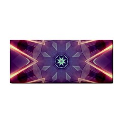 Abstract Glow Kaleidoscopic Light Hand Towel