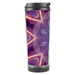 Abstract Glow Kaleidoscopic Light Travel Tumbler