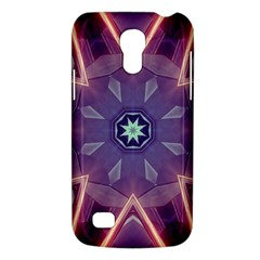 Abstract Glow Kaleidoscopic Light Samsung Galaxy S4 Mini (gt I9190) Hardshell Case