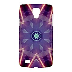Abstract Glow Kaleidoscopic Light Samsung Galaxy S4 Active (i9295) Hardshell Case