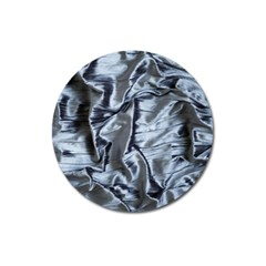 Pattern Abstract Desktop Fabric Magnet 3  (round)