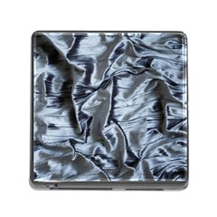 Pattern Abstract Desktop Fabric Memory Card Reader (square)