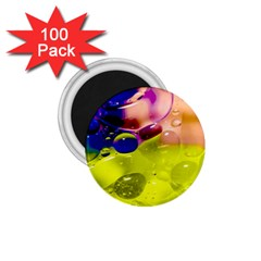 Abstract Bubbles Oil 1 75  Magnets (100 Pack)