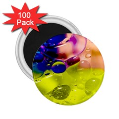 Abstract Bubbles Oil 2 25  Magnets (100 Pack)