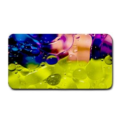 Abstract Bubbles Oil Medium Bar Mats