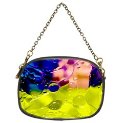 Abstract Bubbles Oil Chain Purses (two Sides)