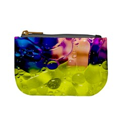 Abstract Bubbles Oil Mini Coin Purses