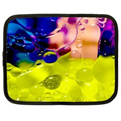 Abstract Bubbles Oil Netbook Case (xl)