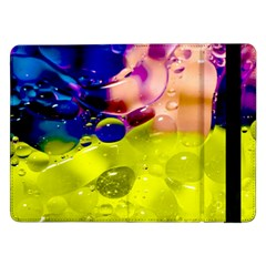 Abstract Bubbles Oil Samsung Galaxy Tab Pro 12 2  Flip Case