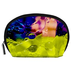 Abstract Bubbles Oil Accessory Pouches (large)