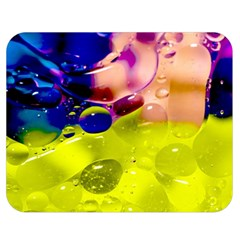 Abstract Bubbles Oil Double Sided Flano Blanket (medium)
