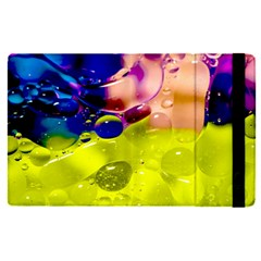 Abstract Bubbles Oil Apple Ipad Pro 12 9   Flip Case