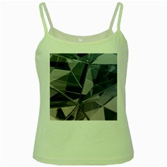 Abstract Background Abstract Minimal Green Spaghetti Tank