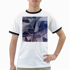 Abstract Background Abstract Minimal Ringer T Shirts