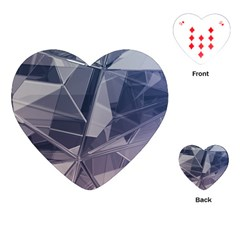 Abstract Background Abstract Minimal Playing Cards (heart)