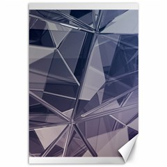 Abstract Background Abstract Minimal Canvas 12  X 18