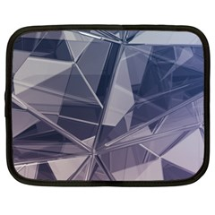 Abstract Background Abstract Minimal Netbook Case (xl)