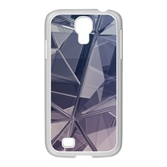 Abstract Background Abstract Minimal Samsung Galaxy S4 I9500/ I9505 Case (white)