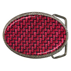 Fabric Pattern Desktop Textile Belt Buckles