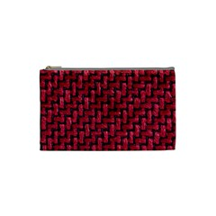 Fabric Pattern Desktop Textile Cosmetic Bag (small)