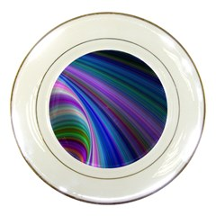 Background Abstract Curves Porcelain Plates